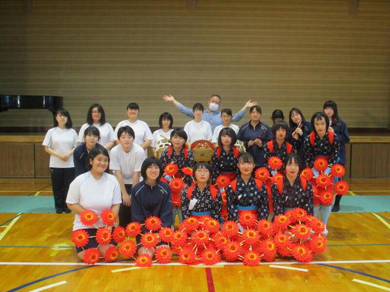 NHK田中アナウンサーと記念写真